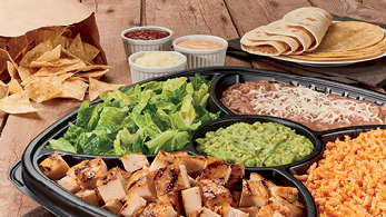 Family Taco Bar available at Rubio's