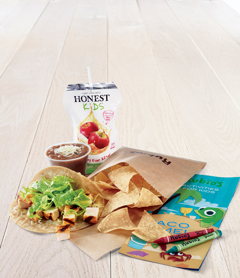 Kids Chicken Taco Meal