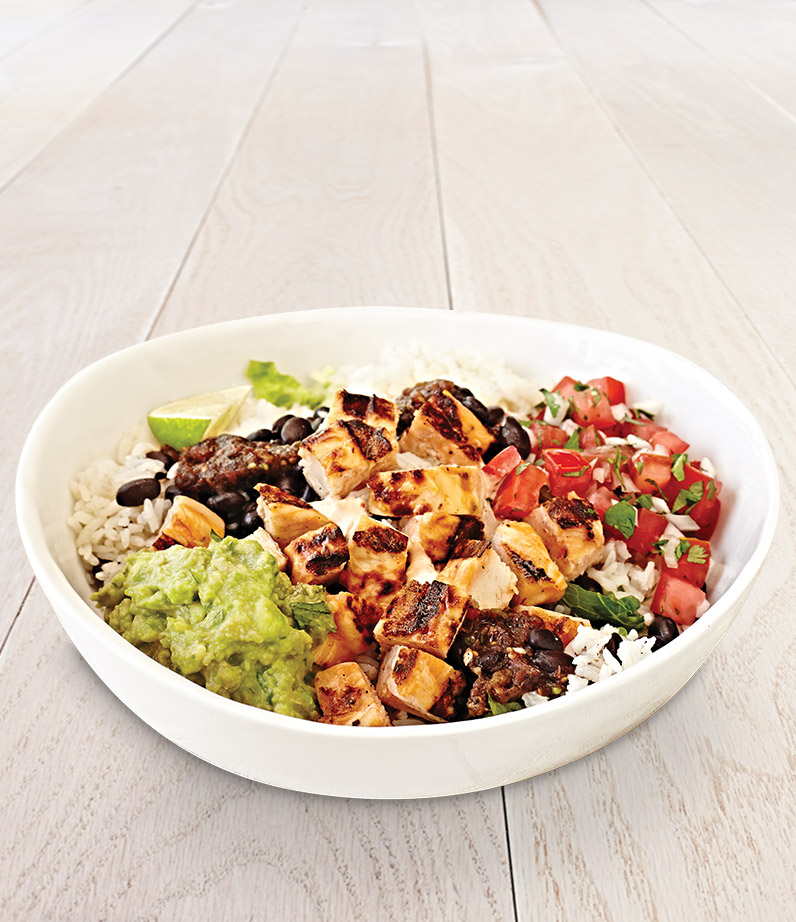California Rice Bowl With Chicken Or Seafood Rubio 39 S