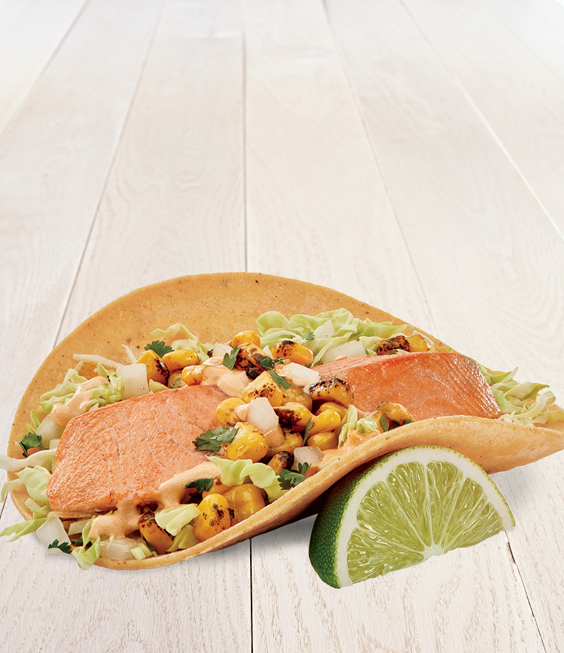 Grilled Salmon Taco