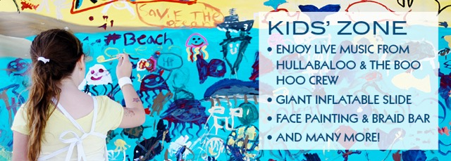 CoastFest Kid's activities