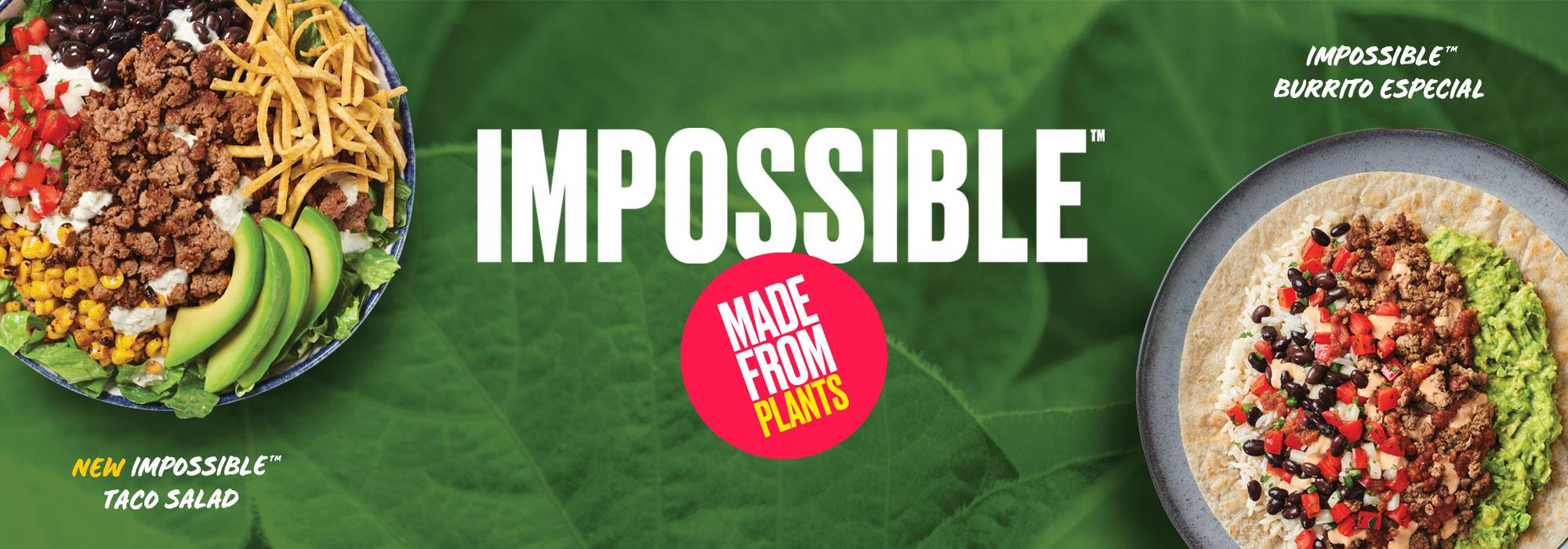 Impossible Made from Plants