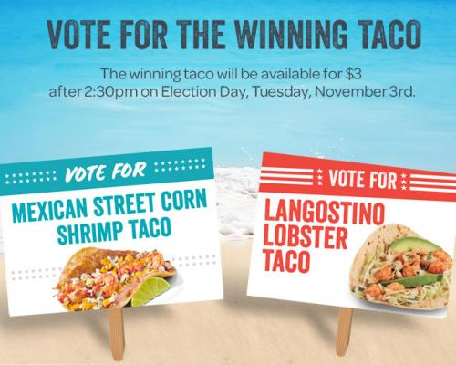 Vote for the winning taco!