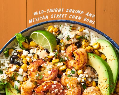 Wild-Caught Shrimp and Mexican Street Corn Bowl