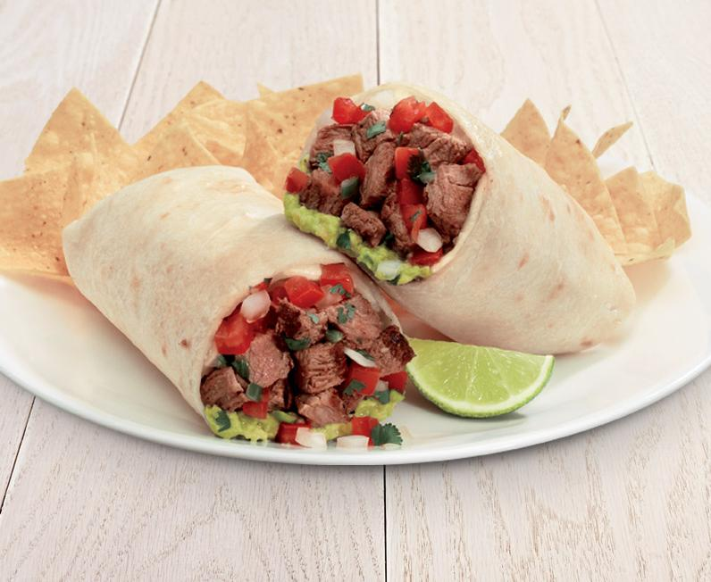 Grilled Steak Burrito