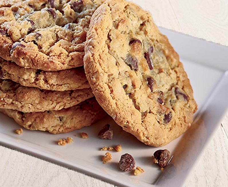 Chocolate Chip Cookies made with Ghirardelli chocolate
