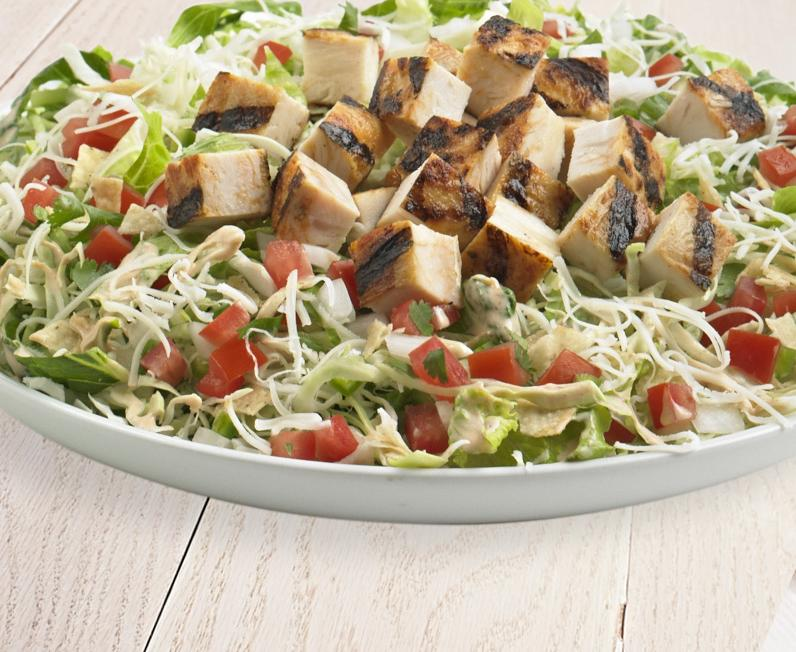 Chopped Salad with Chicken