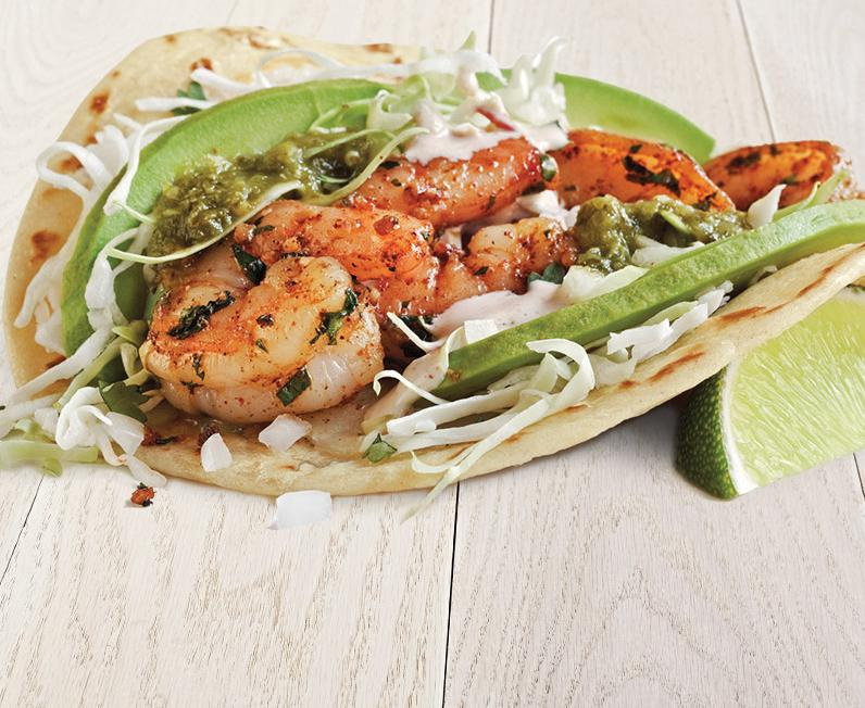 Seared Shrimp Taco