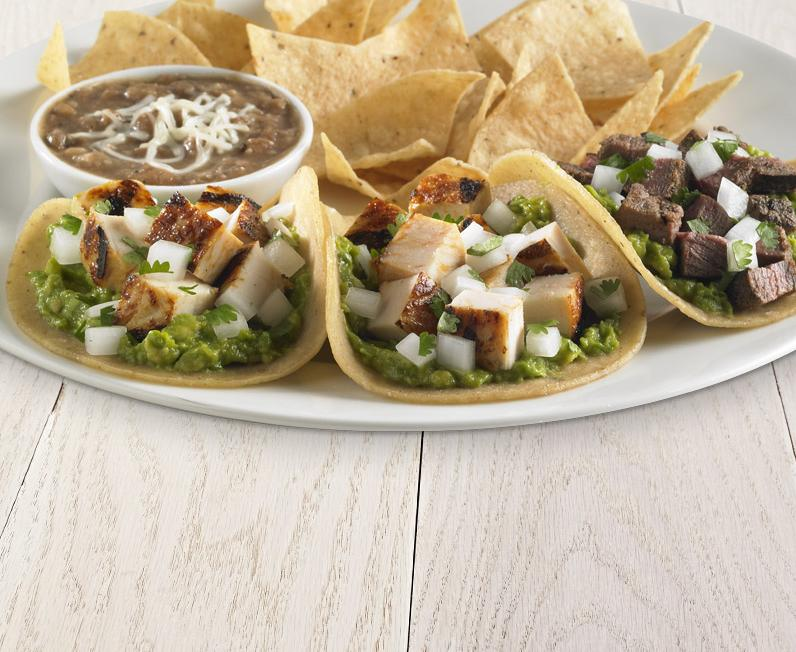 Grilled steak street tacos with guacamole rubio 39 s for Rubio s coastal grill the original fish taco