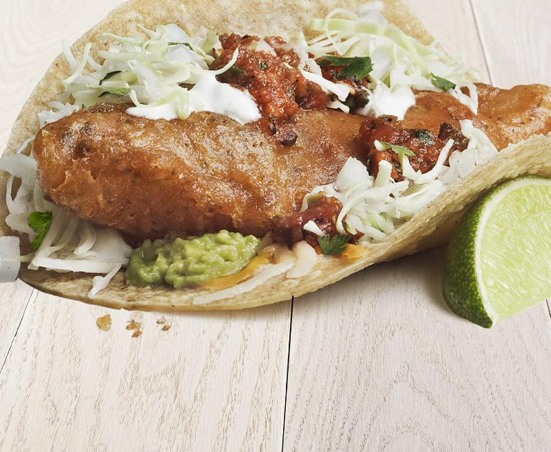 beer battered fish taco especial rubio 39 s