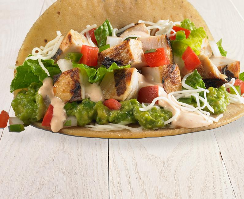 Grilled Chicken Taco