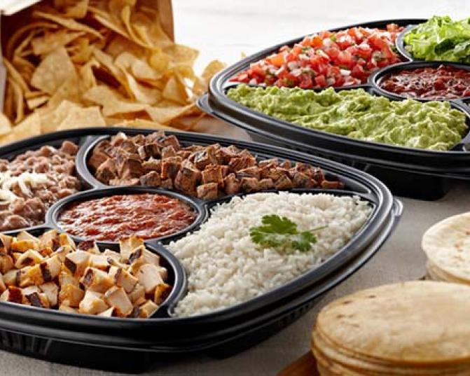 Rubio's Catering Regular Taco Bar