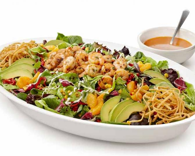 Rubio's Catering Chipotle Orange Salad