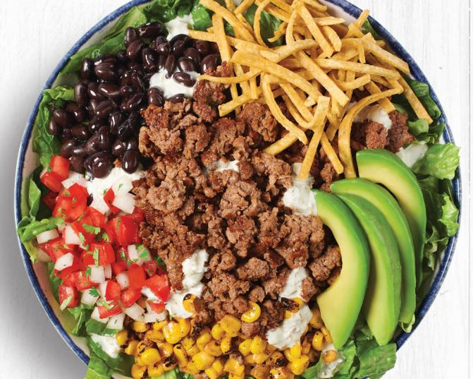 Impossible Taco Salad