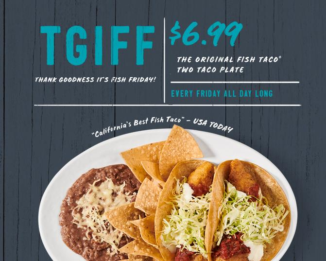 TGIFF: Thank Goodness It's Fish Friday!