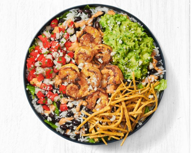 Smoky Oaxacan Shrimp Bowl