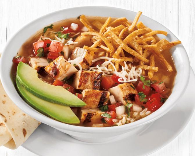Chicken Tortilla Soup is back at Rubio's for a limited time.