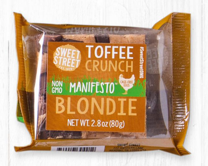 Toffee Crunch Blondie