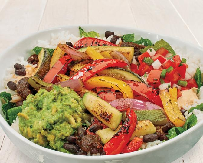 California Bowl with grilled veggies