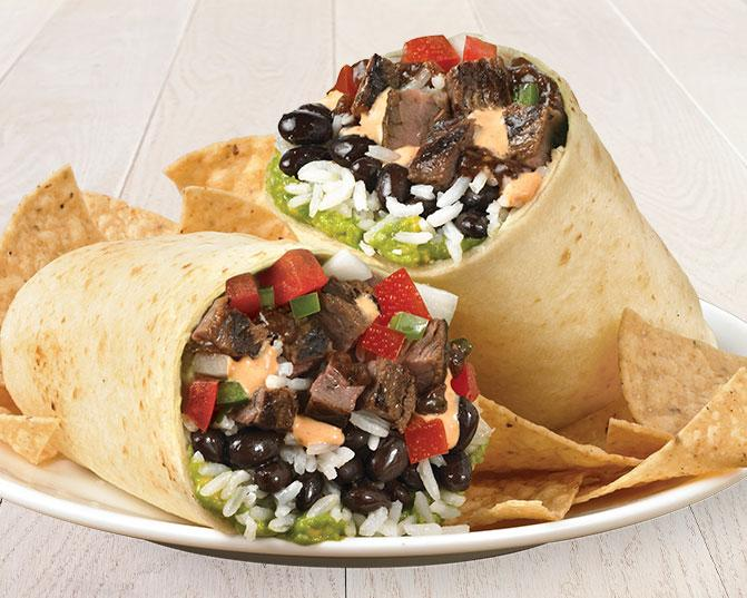 Burrito Especial with Grilled Steak