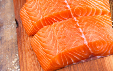 Sustainable Raw Salmon